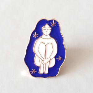 {5/$25} Alone in space enamel pin